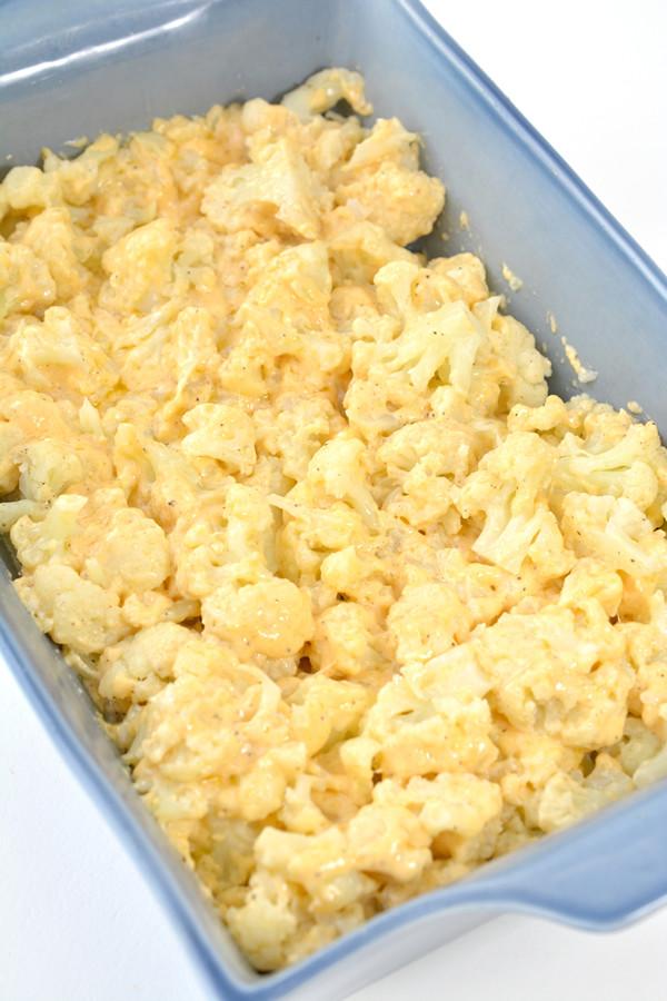 Cheese Cauliflower Keto Easy Keto Cauliflower Mac and Cheese
