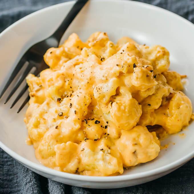"Cheese Cauliflower Keto Cauliflower ""Mac"" And Cheese Keto Low Carb Savory Tooth"