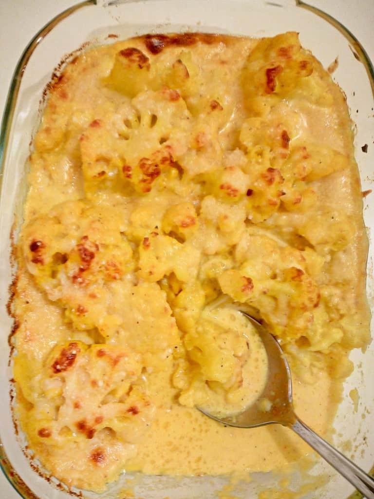 Cheese Cauliflower Keto LOW CARB KETO CAULIFLOWER CHEESE