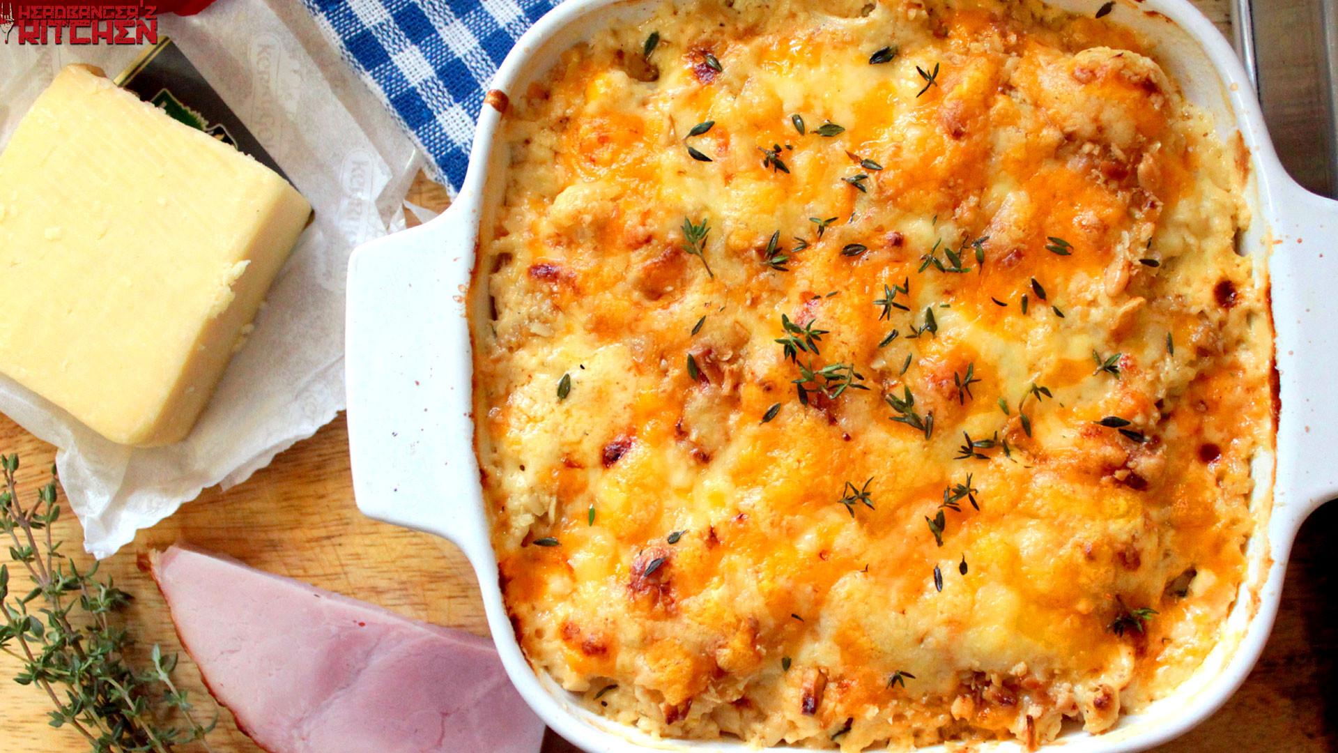 Cheese Cauliflower Keto Keto Cauliflower Mac and Cheese Headbangers Kitchen