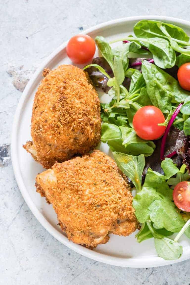 Chicken Legs In Air Fryer Keto  Air Fryer Chicken Thighs Tutorial Keto Gluten Free