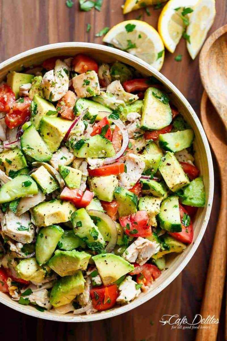 Clean Keto Salads  10 Amazing Low Carb Keto Chicken Salad Recipes