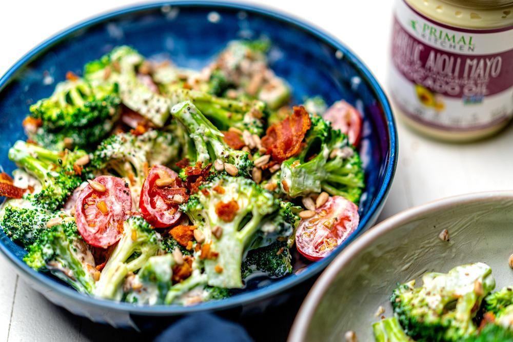 Clean Keto Salads  Keto Broccoli Salad in 2020