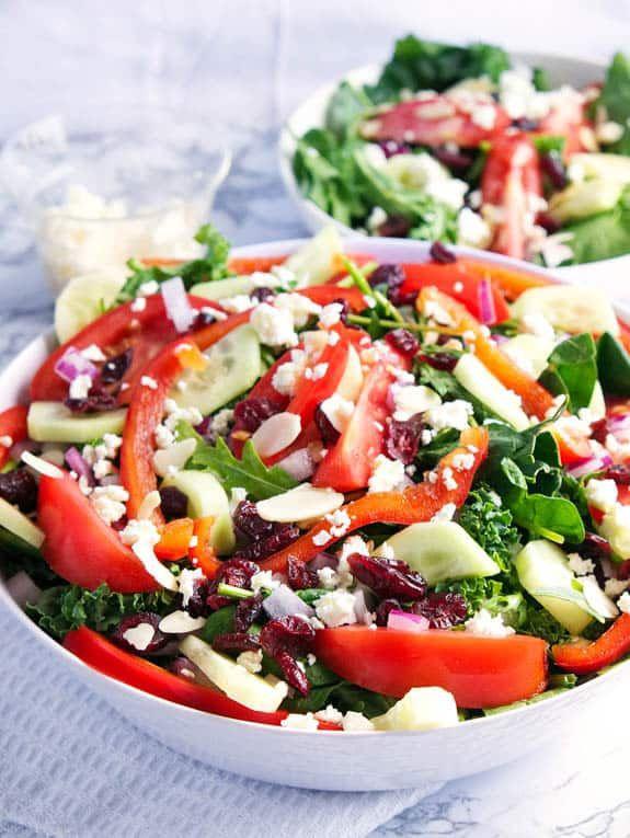 Clean Keto Salads  Keto Greek Salad with Feta Recipe