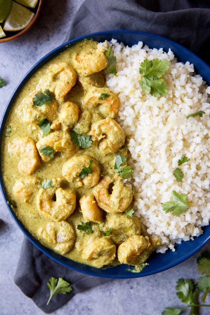 Coconut Curry Shrimp Keto  Shrimp Keto Curry KetoConnect