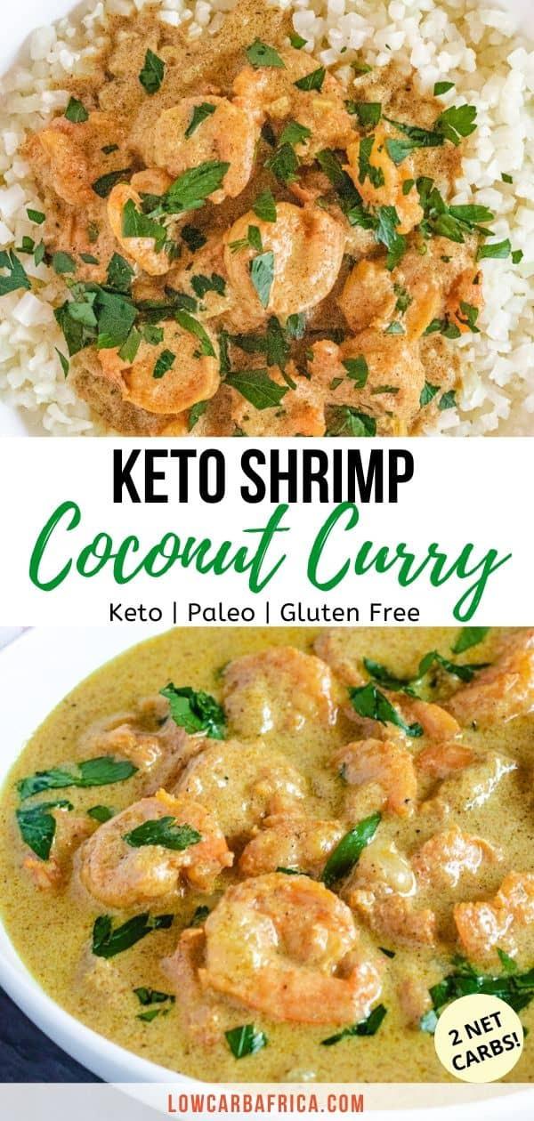 Coconut Curry Shrimp Keto  Keto Shrimp Coconut Curry Low Carb Africa