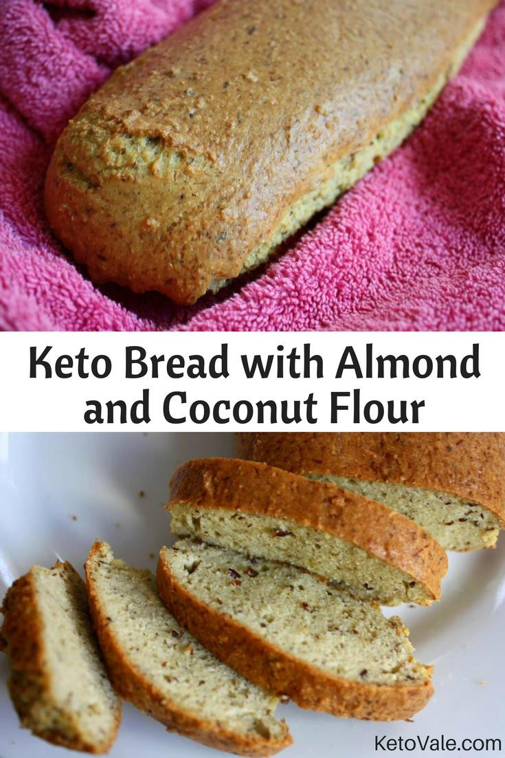Coconut Flour Keto Recipes  Best Keto Bread with Coconut and Almond Flour Recipe