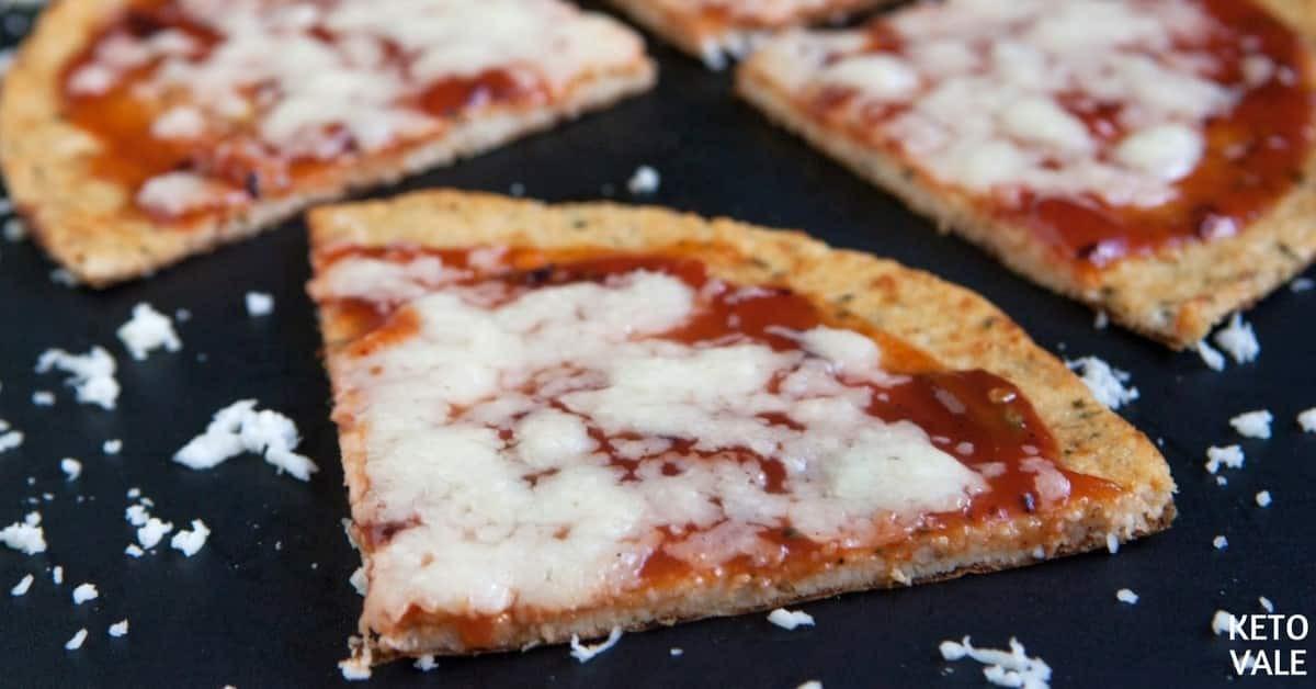 Coliflower Pizza Crust Cauliflower Keto  Keto Cauliflower Crust Pizza Low Carb Recipe