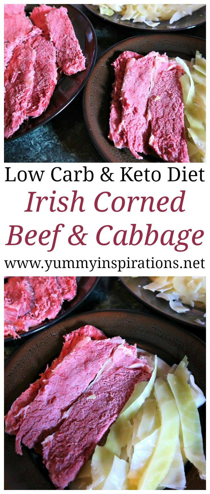 Corn Beef Keto  Authentic Irish Corned Beef and Cabbage Recipe Easy Keto