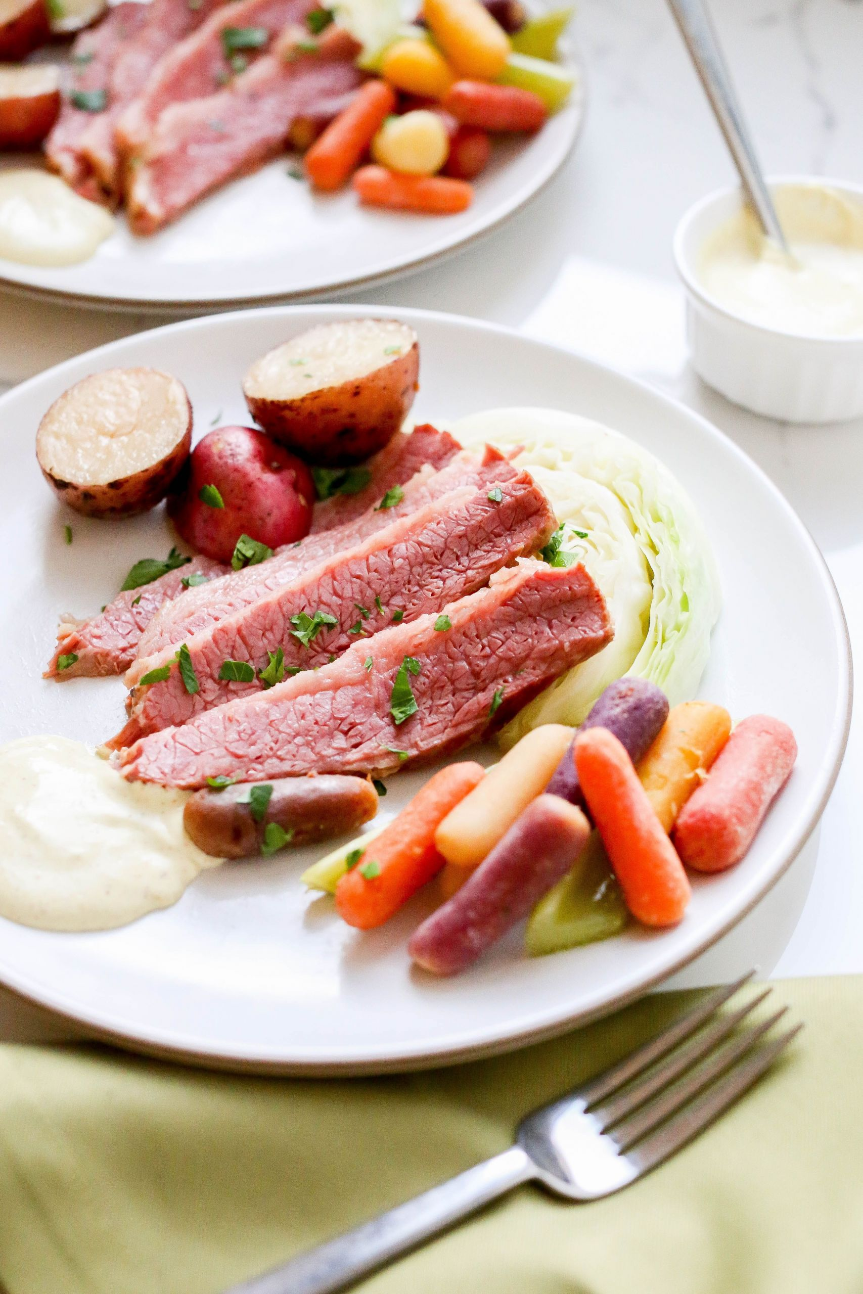 Corned Beef Recipes Slow Cooker Keto  A Homemade Corned Beef and Cabbage recipe made simple our