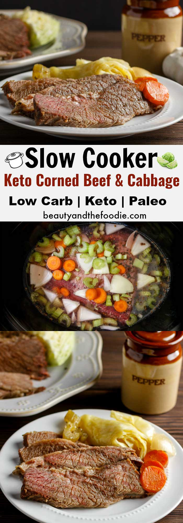 Corned Beef Recipes Slow Cooker Keto  Slow Cooker Keto Corned Beef Cabbage