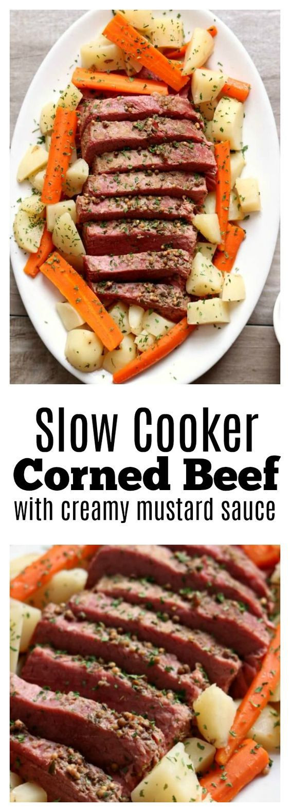 Corned Beef Recipes Slow Cooker Keto  SLOW COOKER CORNED BEEF DINNER WITH MUSTARD SAUCE low