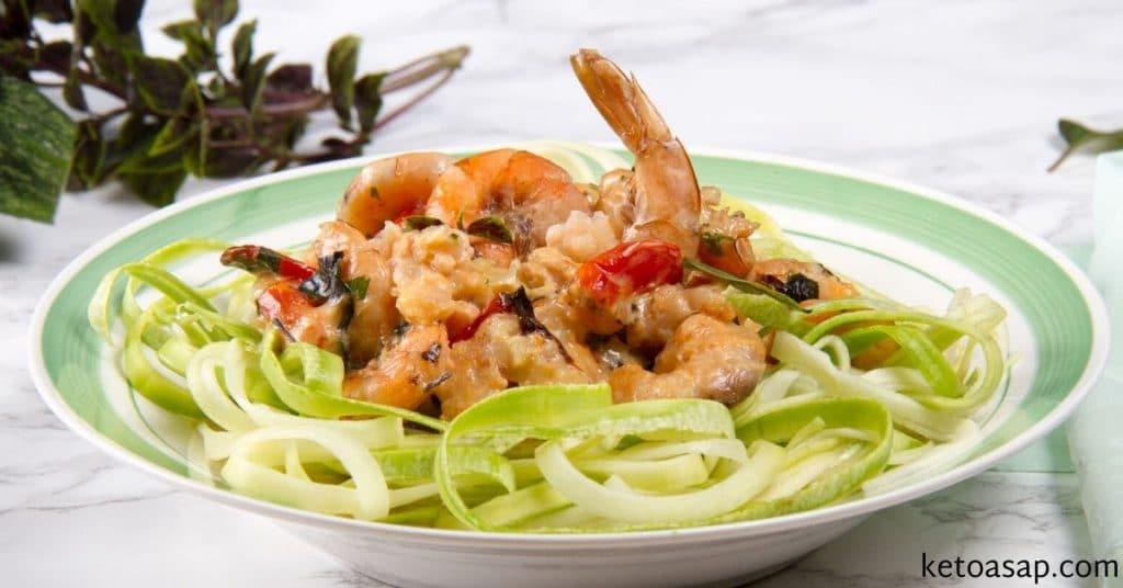 Creamy Garlic Tuscan Shrimp Keto  Easy Keto Creamy Garlic Butter Tuscan Shrimp Low Carb