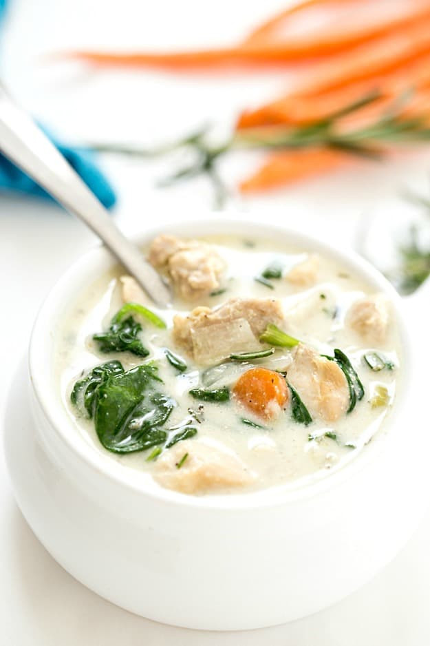 Crock Pot Chicken Keto  Easy Crockpot Chicken Stew Low Carb Keto Gal on a Mission
