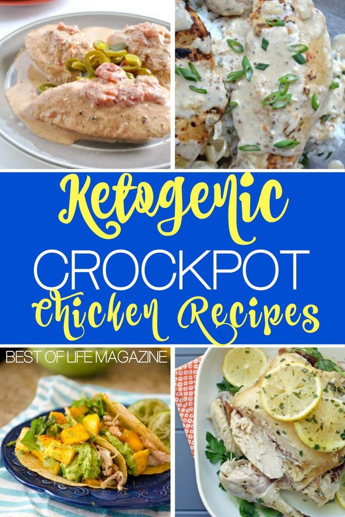 Crock Pot Chicken Keto  Crockpot Keto Chicken Recipes
