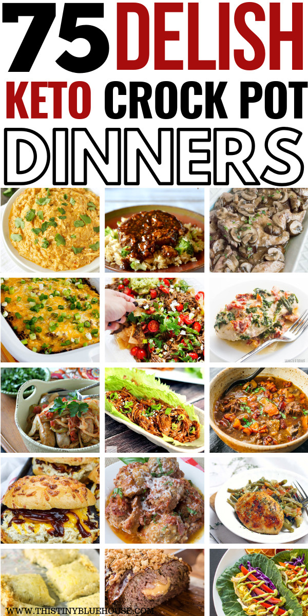 Crock Pot Keto Dinner Recipes  75 Mouthwatering Crock Pot Keto Dinners With images