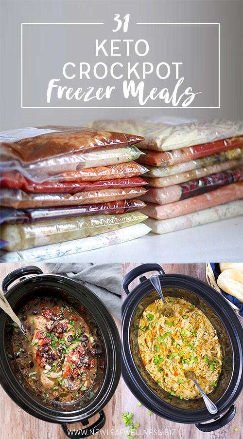 Crock Pot Keto Dinner Recipes  31 Keto Crockpot Freezer Meals Money Saving Mom