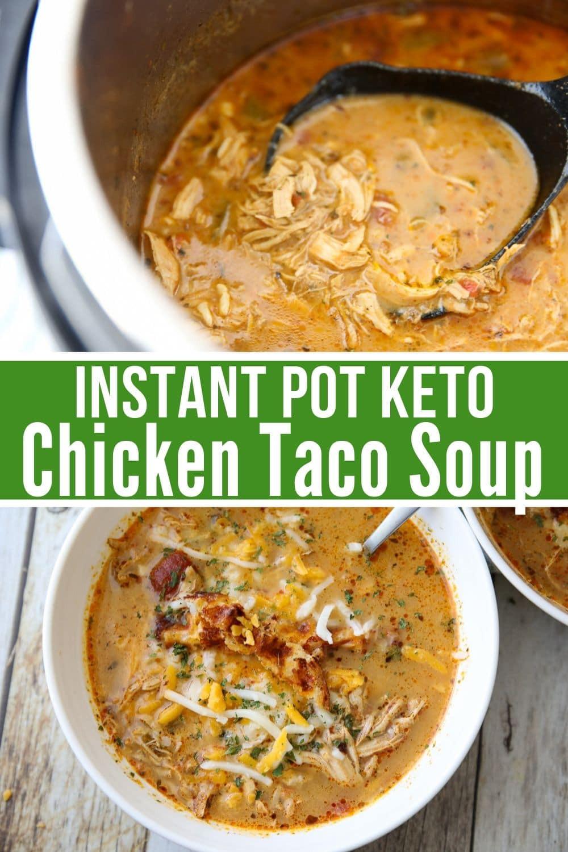Crockpot Keto Soup Recipes  Best Keto Chicken Taco Soup Recipe Instant Pot or Crock