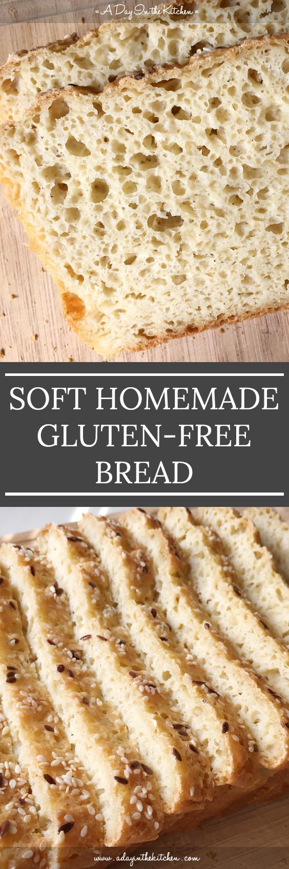 Diy Gluten Free Bread  Soft Homemade Gluten Free Bread