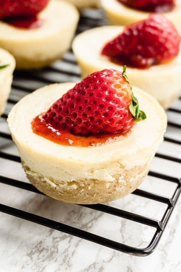 Easy Keto Cheesecake  Keto Mini Cheesecake Bites Quick and Easy Recipe