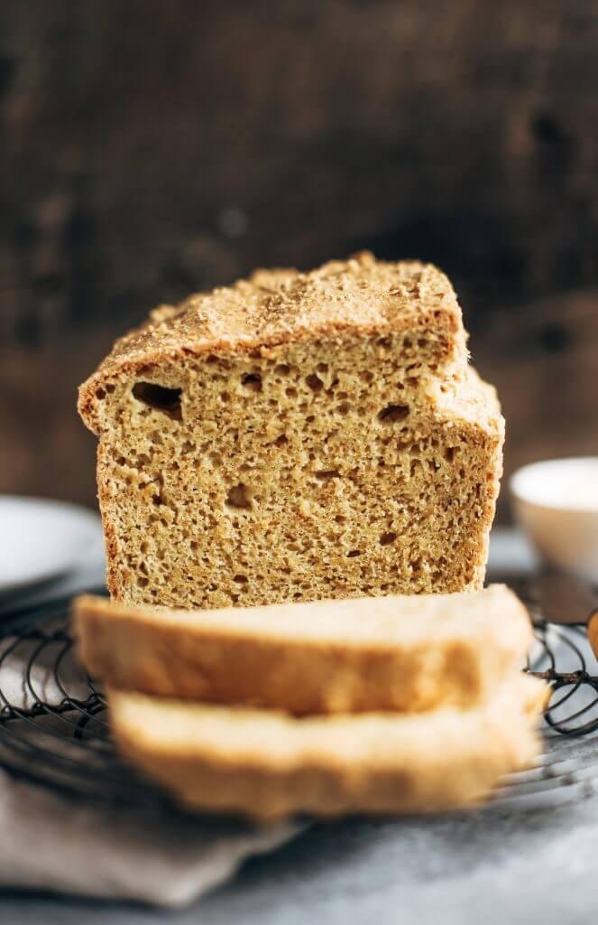 Easy Keto Sandwich Bread  Best Keto Gluten Free Bread Paleo Gluten Free Eats