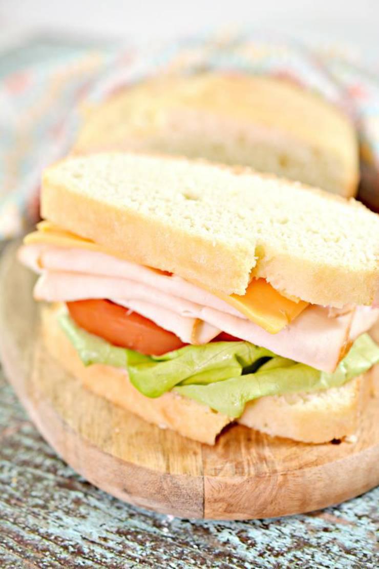 Easy Keto Sandwich Bread  Keto Bread BEST Low Carb Keto Sandwich Loaf Bread Idea