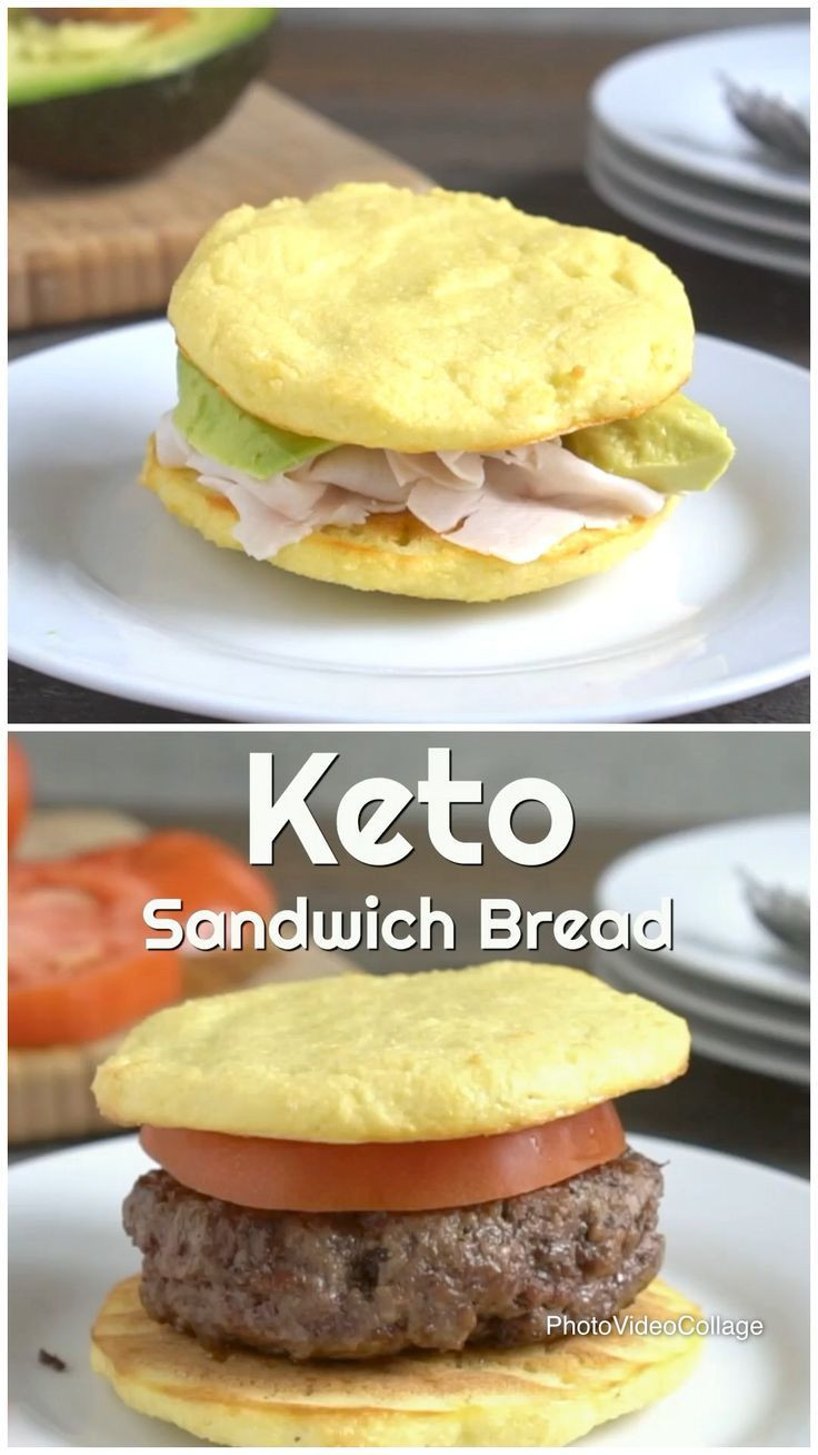 Easy Keto Sandwich Bread  This keto sandwich bread is super easy to make and only