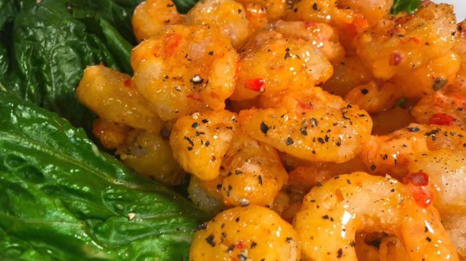 Firecracker Shrimp Keto  Keto Air Fryer Firecracker Shrimp AirFryer Recipes