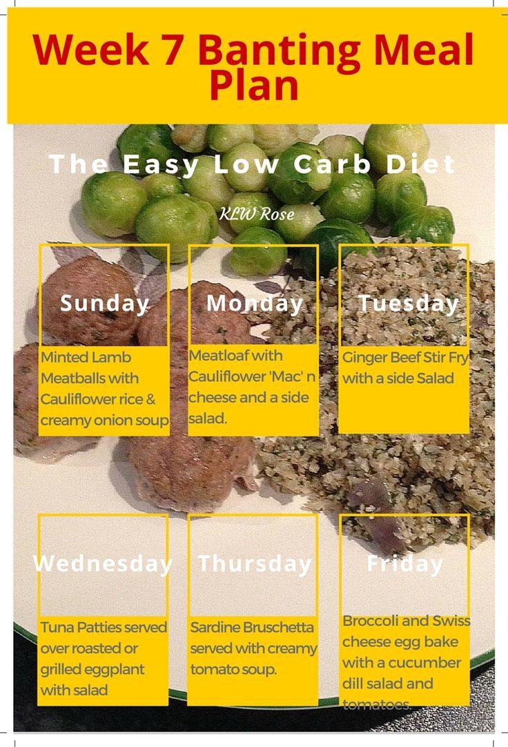 Ghanaian Keto Diet Plan  Week 7 Banting Meal Plan The Easy Low Carb Diet