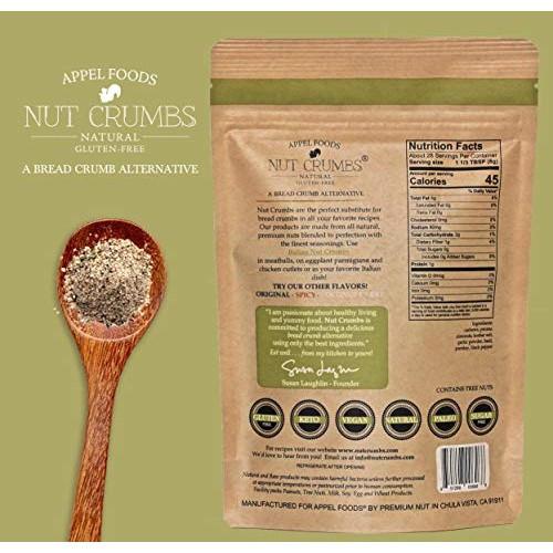 Gluten Free Bread Crumb Alternative  Appel Foods Nut Crumbs Bread Crumb Alternative