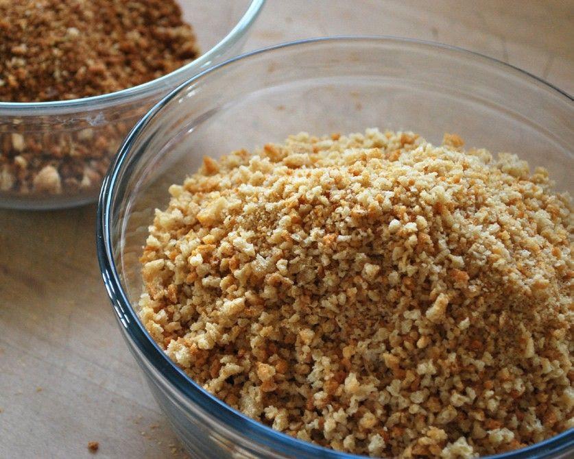 Gluten Free Bread Crumbs Recipe  These gluten free bread crumbs can be used in any recipe