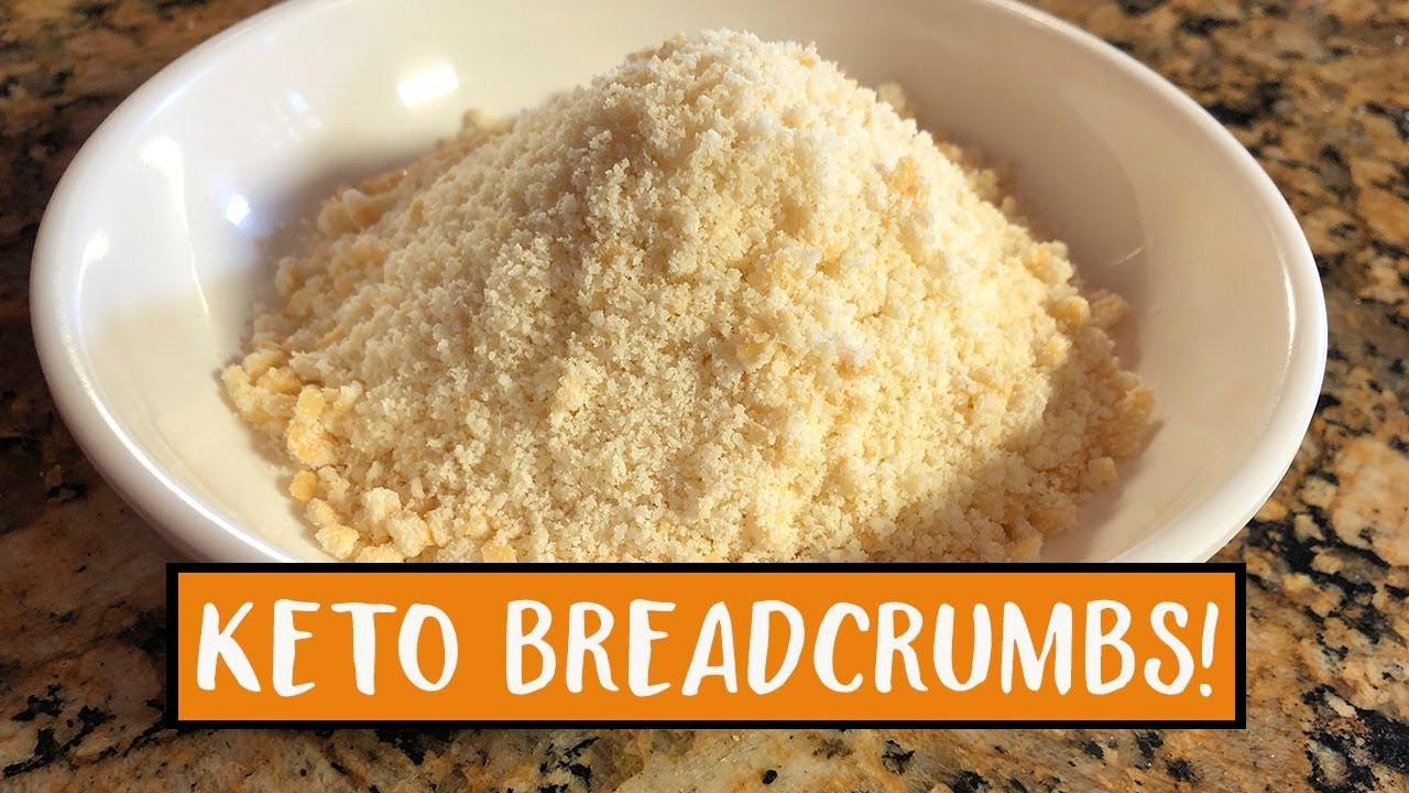 Gluten Free Bread Crumbs Recipe  Keto Breadcrumbs