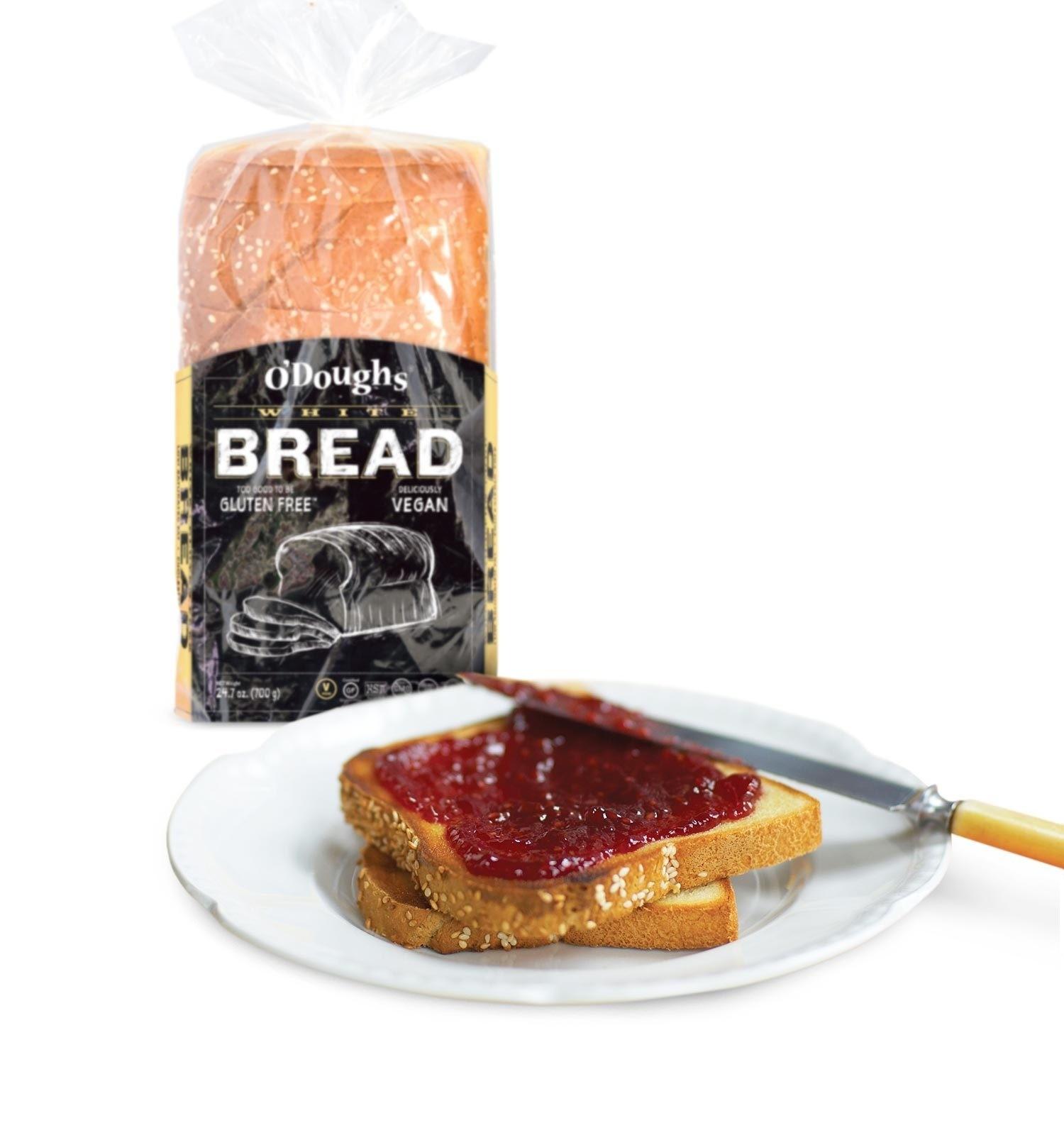 Gluten Free Bread Dough  O Dough Gluten Free White Bread Loaf 24 7 Ounce [3 Packs]