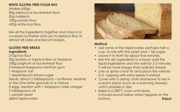 Gluten Free Bread Flour Recipe  White Gluten free Flour Mix and Gluten free Bread Recipe