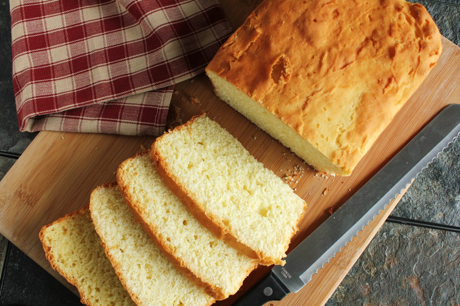 Gluten Free Bread Flour Recipe  White Rice Flour Yeast Bread Gluten Free Low Fructose