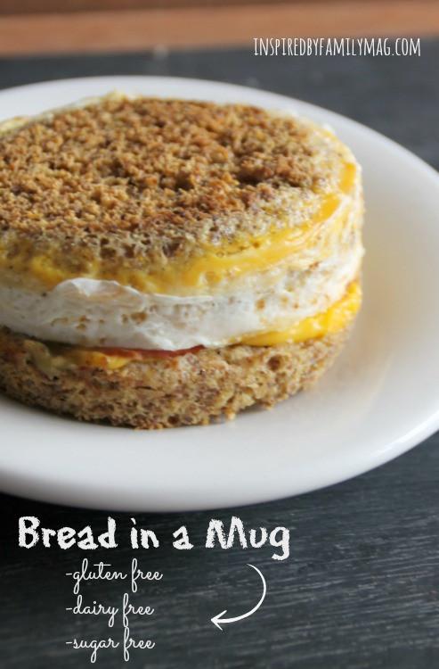 Gluten Free Bread In A Mug  Bread in a Mug