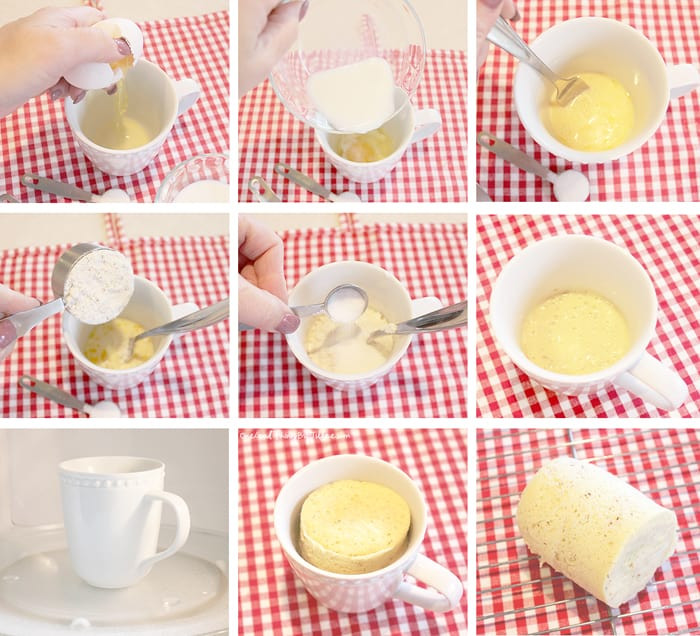 Gluten Free Bread In A Mug  Gluten Free Bread In A Cup In Seconds e Good Thing by