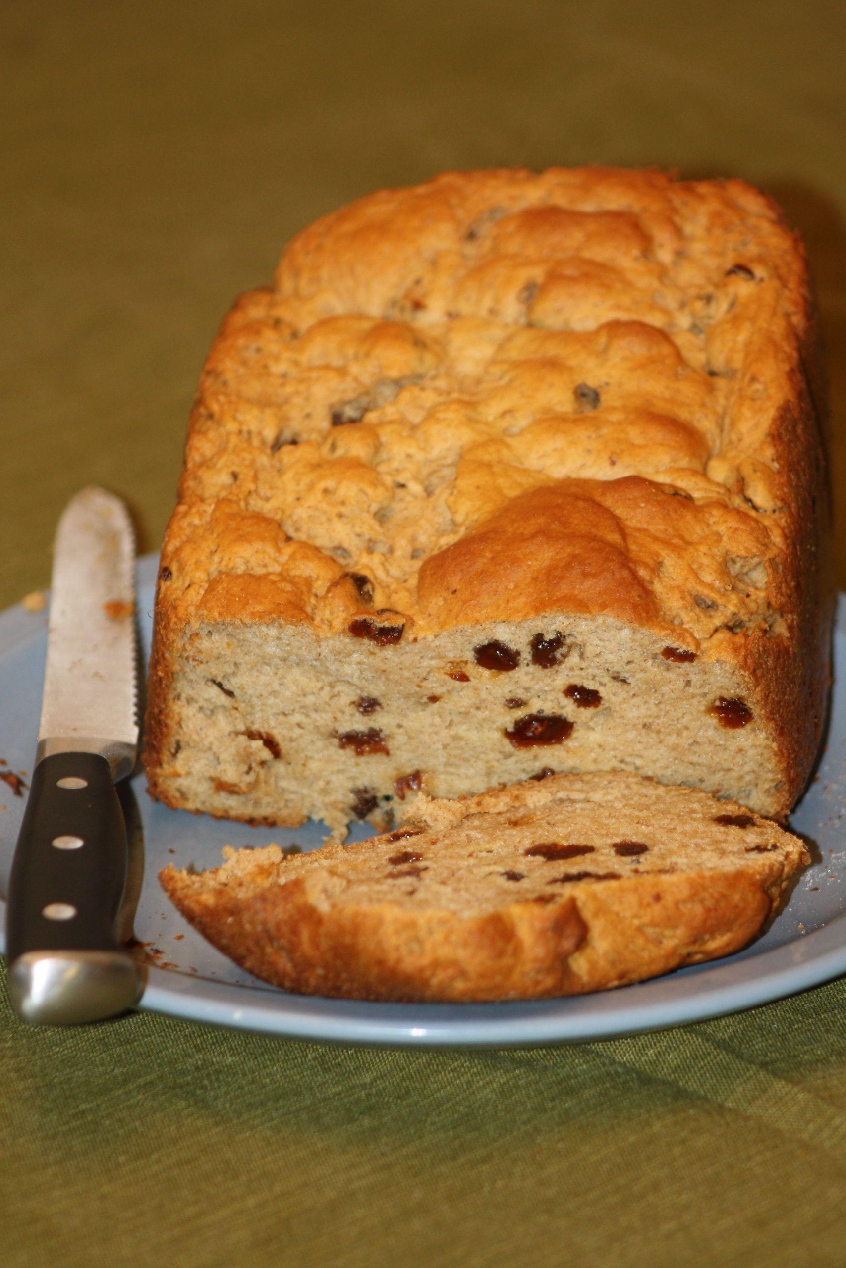 Gluten Free Bread Machine Recipes Glutenfree  Gluten Free Bread Machine Raisin Bread Recipe