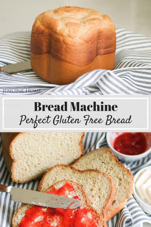 Gluten Free Bread Machine Recipes Glutenfree  Perfect Bread Machine Gluten Free Bread Jenuine Home