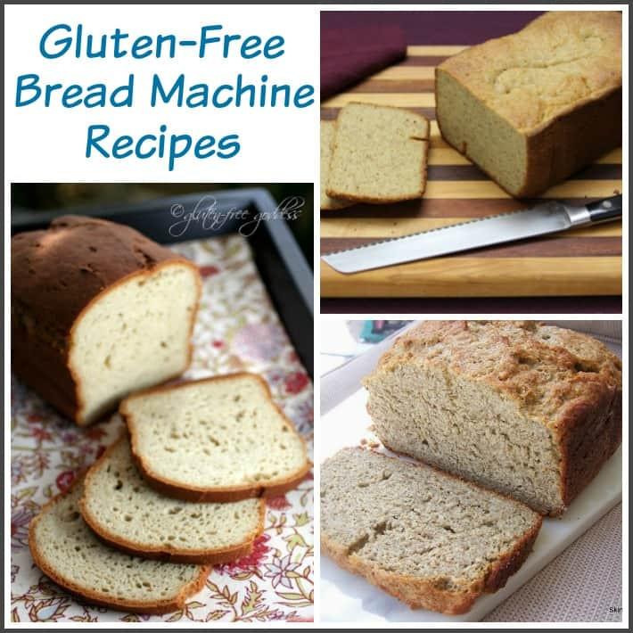 Gluten Free Bread Machine Recipes Glutenfree  Gluten Free Bread Recipes