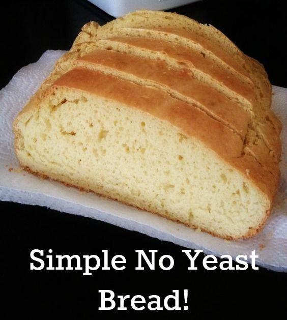 Gluten Free Bread No Yeast  easy sourdough bread no yeast