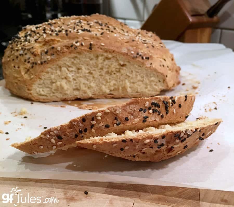 Gluten Free Bread Recipe  Gluten Free Artisan Bread quick and easy gfJules