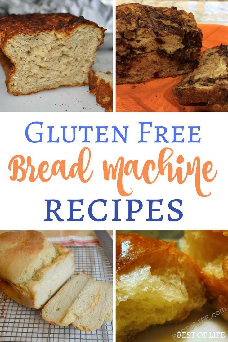 Gluten Free Bread Recipe Breadmaker  Gluten Free Bread Machine Recipes to Bake The Best of Life