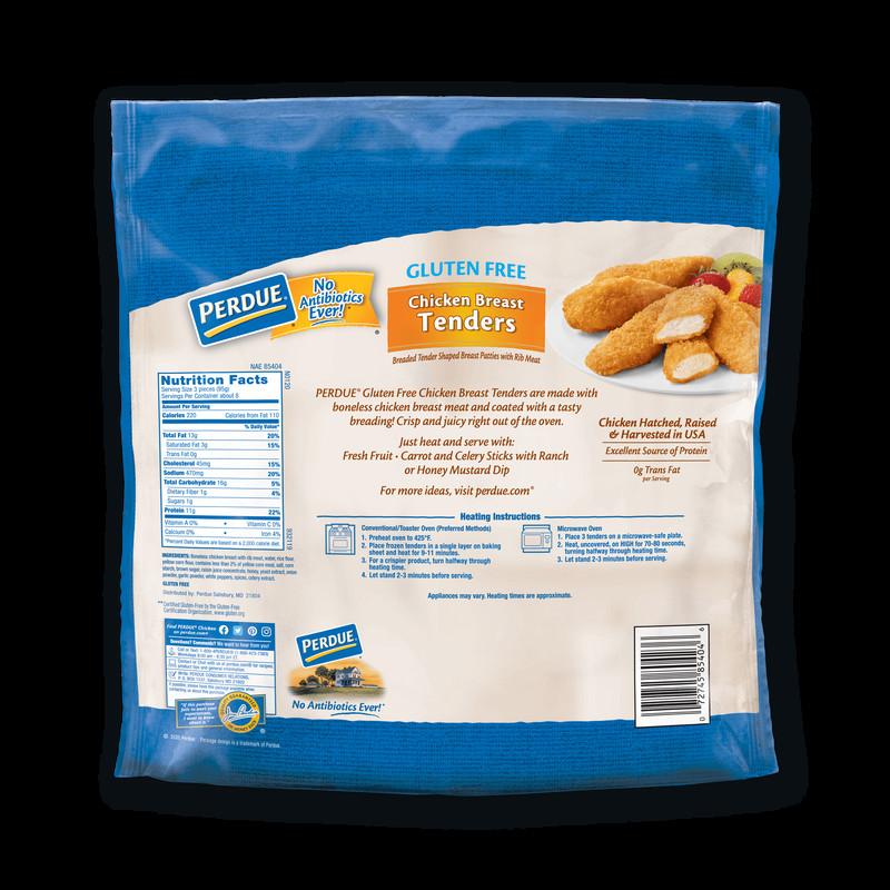 Gluten Free Breaded Chicken Tenders  Perdue Breaded Chicken Breast Tenders Gluten Free