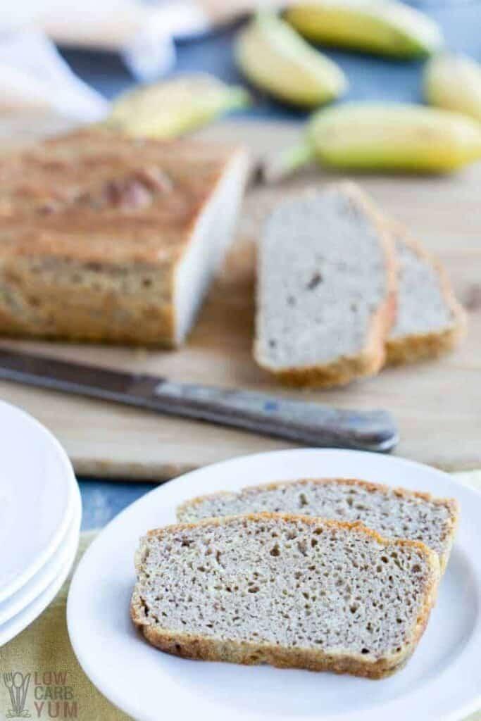 Gluten Free Keto Banana Bread  Coconut Flour Banana Bread Paleo Gluten Free Keto
