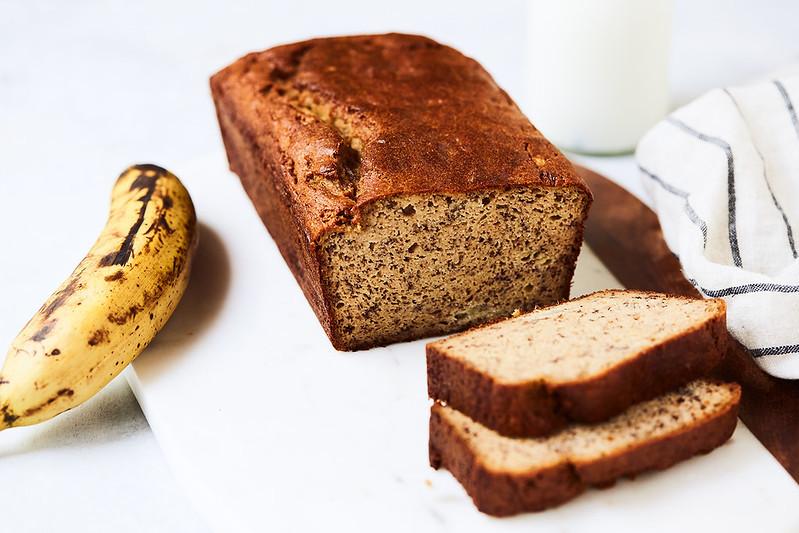 Gluten Free Keto Banana Bread  Low Carb Banana Bread paleo keto gluten free dairy