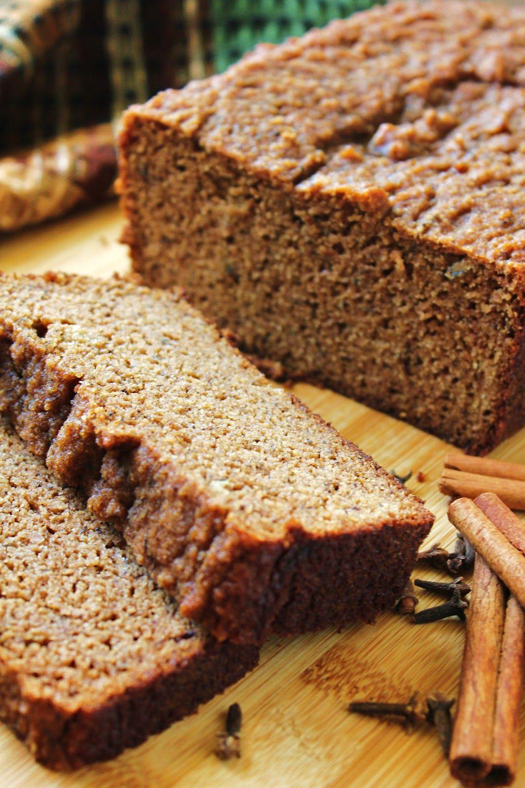 Grain Free Bread Recipe Almond Meal  Chai Spice Almond Flour Banana Bread Grain Free Gluten