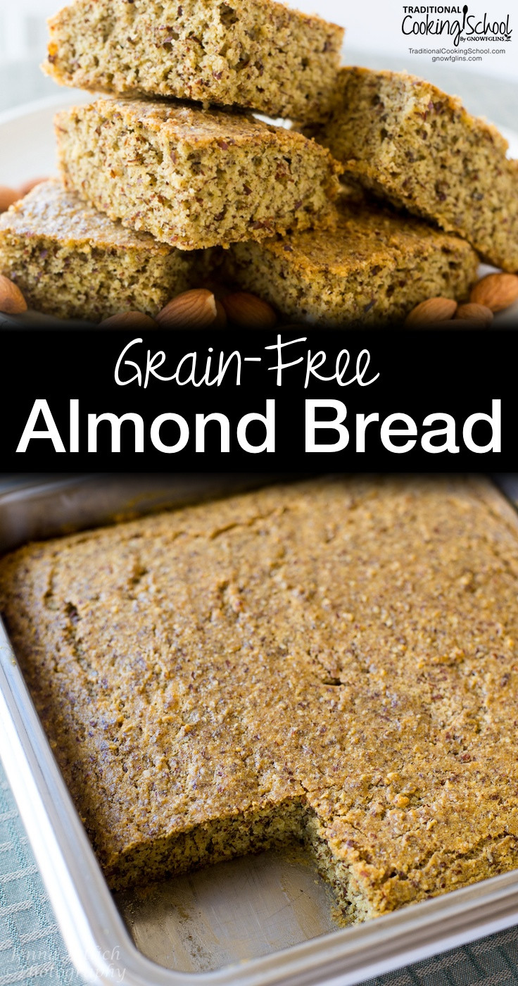 Grain Free Bread Recipe Almond Meal  Grain Free Almond Bread Paleo Gluten Free & GAPS Diet