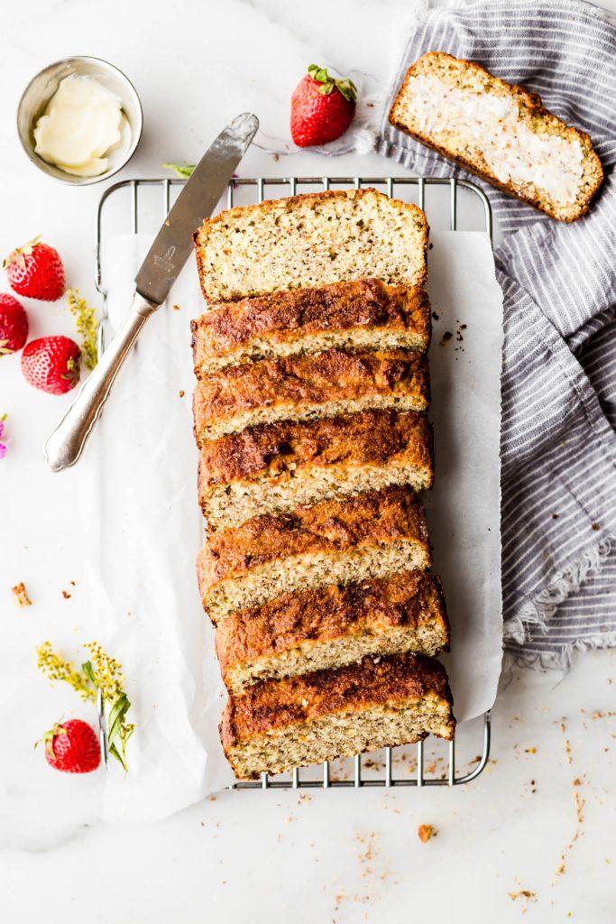 Grain Free Bread Recipe Almond Meal  Cinnamon Almond Flour Bread Paleo