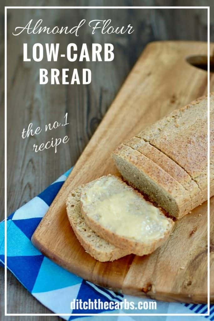 Grain Free Bread Recipe Almond Meal  Low Carb Almond Flour Bread THE recipe everyone is going